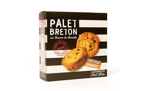 Palet Chocolat Orange